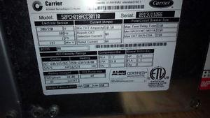 water-source heat pump (Geothermal) 1.5ton NEW Carrier
