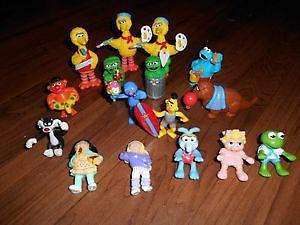 10 Sesame Street, 2 Cabbage Patch Kids, 3 Muppets and 1