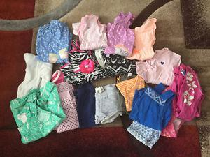 18 month girls summer clothing lot