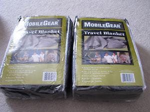 2 brand new travel blankets for sale