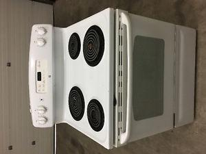 """**30"""" BEAUTIFUL GENERAL ELECTRIC WHITE STOVE**"""