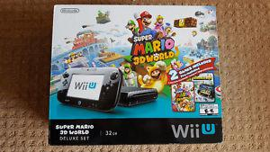 32 GB Wii U, Wiimote, and nunchuk all in excellent condition