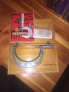 """4-5"""" micrometer"""