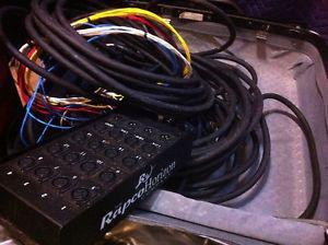 A&H Mixwizard wz ch snake with 4 xlr returns