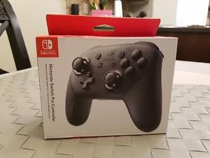 BRAND NEW SEALED NINTENDO SWITCH PRO CONTROLLER WITH RECEIPT