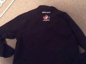 Bauer hockey soft shell jacket