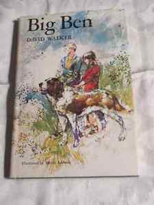 Big Ben (Adventures of a St Bernard) - Vintage story with