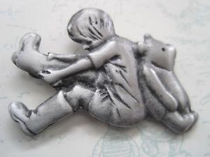 Brand New Collectible Disney's Winnie The Pooh Pewter Pin