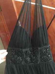 Brand new Black Sequence Waist Dress