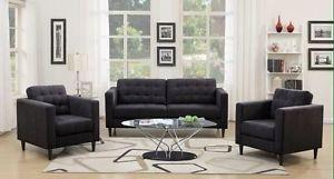 Brand new grey midnight sofa and loveseat $878+FREE