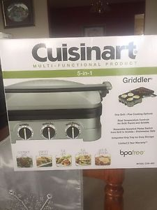 Cuisinart multi functional 5 in 1 grill