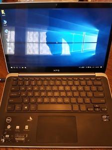 Dell XPS 13 Ultrabook Windows 10 Edition i7 8gb ddrssd