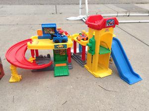 Fisher Price Car Garage