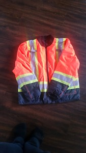 For Sale Construction Safety Jacket Size XL