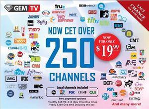 IPTV (300 live channels, Movie on demand, Netflix series)