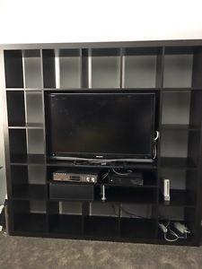 Ikea kallax/ lappland/ expedit TV Stand with storage