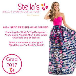 MORE NEW GRAD DRESSES HAVE ARRIVED THIS WEEK AT STELLA'S!
