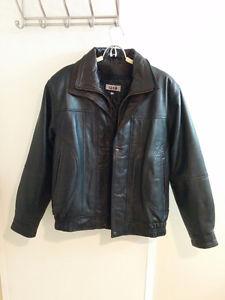 NEW: Men's Medium Leather Jacket