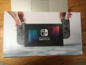Nintendo Switch - Gray - Brand New