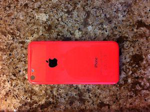 Pink iPhone 5C 8GB cell phone