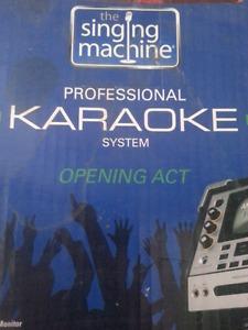 Professional karaoke system