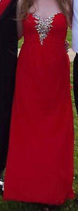 Red Prom Dress (medium)