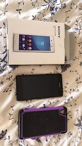 Sony Experia M4 waterproof with case and charger