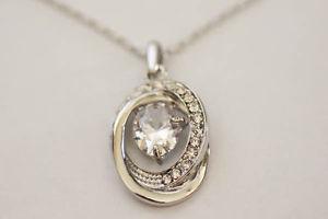 Swarovski Crystal Oval Necklace