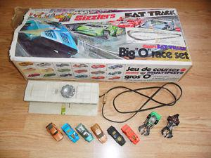 Vintage Hot Wheels Sizzlers Fat Track