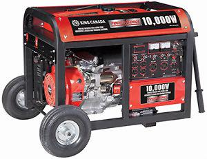 W Gasoline Generator with Electric Start