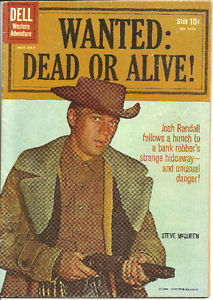WANTED DEAD OR ALIVE ISSUE #1 DELL PHOTO COVER