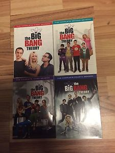 Wanted: Big Bang Theory seasons 1-4