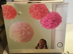 Weddings/Events -M.Stewart tissue paper Pom poms