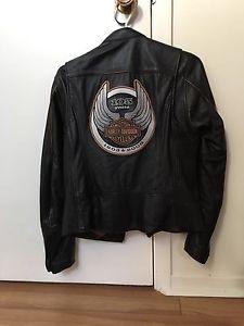 Woman 105th Anniversary Harley Davidson like new jacket
