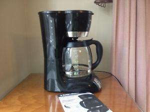 12-cup Black and Decker coffee maker