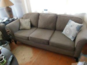 2 X Matching 3 seater sofas 1 year old plus........