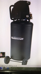 26 gallon air compressor $200 firm