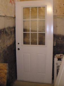 """36 """" steel door"""