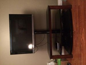 "42"" Sony Bravia tv and tv stand"