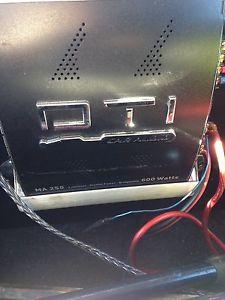600 watt amp and sub
