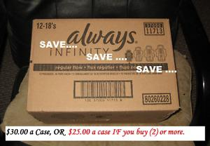 * Cases of Always Infinity Regular Pads with Wings