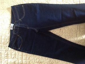 DENIM JEGGINGS AKA SKINNY JEANS SIZE 11 NEW W/OUT TAGS