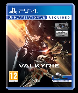 Eve Valkyrie PlayStation VR