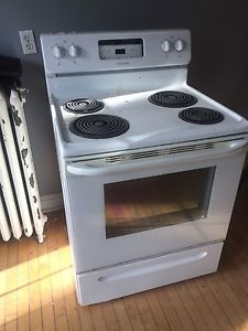 Free fridge and stove