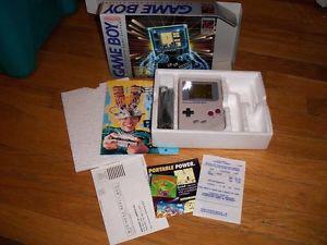 GameBoy Original Still In Box