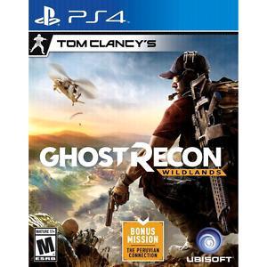 Ghost Recon Wildlands. Sealed copy! No Trades!