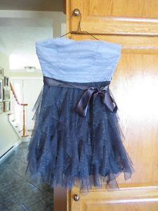 Grey Semi Formal Dress