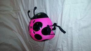 Kids 3yrs Ladybug bike helmet
