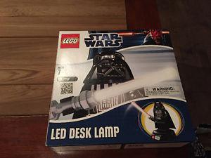 Lego Star Wars LED desk lamp sealed never opened