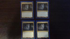 Magic the Gathering Play Set Of Cavern Of Souls NM/Mint